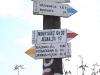 Węzeł szlaków PTTK w Bartkowej